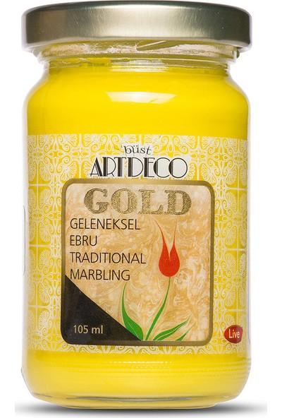 Artdeco Gold Geleneksel Ebru Boyası 105Ml - 150 Sarı