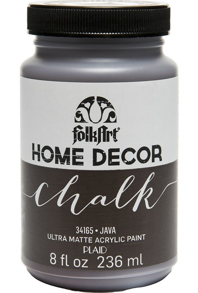 Plaid Folkart Chalk - Home Decor 236Ml Java