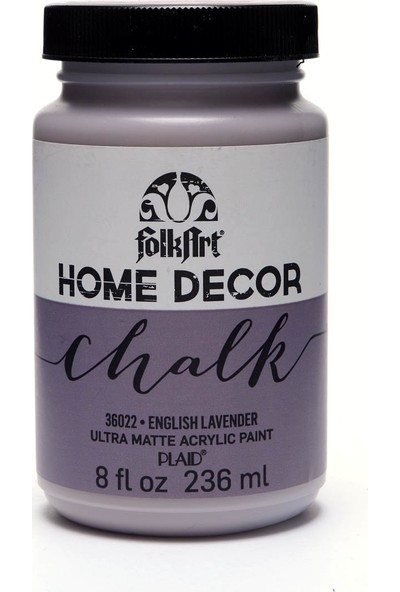 Plaid Folkart Chalk - Home Decor 236Ml English Lavender