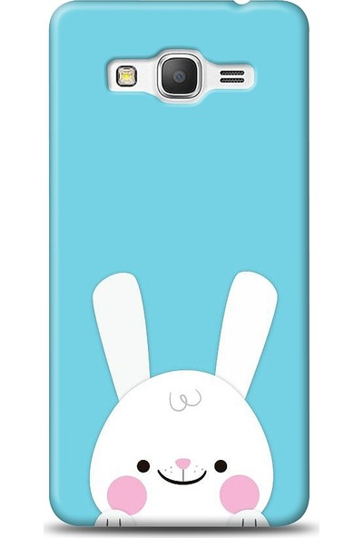 Eiroo Samsung Galaxy Grand Prime / Plus Tavşanlı Baskılı Tasarım Kılıf