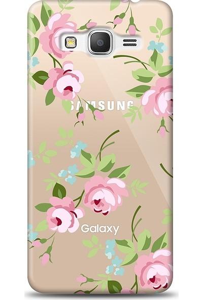 Eiroo Samsung Galaxy Grand Prime / Plus Roses Baskılı Tasarım Kılıf