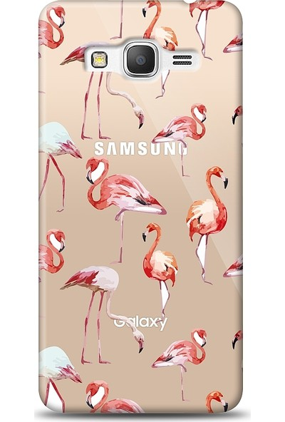 Eiroo Samsung Galaxy Grand Prime / Plus Flamingo Baskılı Tasarım Kılıf