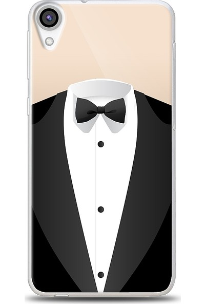 Eiroo HTC Desire 820 Suit Baskılı Tasarım Kılıf