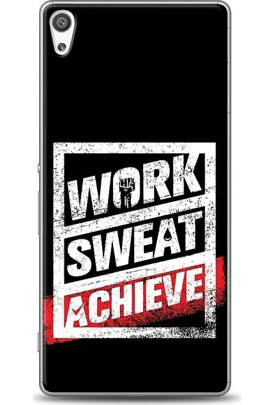 Eiroo Sony Xperia XA Ultra Work Sweat Baskılı Tasarım Kılıf