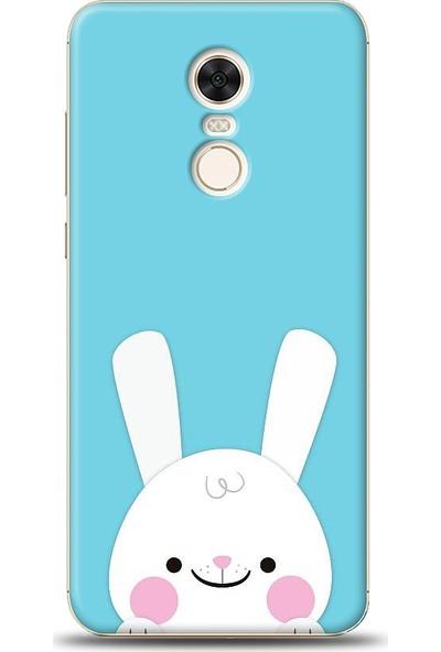 Eiroo Xiaomi Redmi 5 Plus Tavşanlı Baskılı Tasarım Kılıf