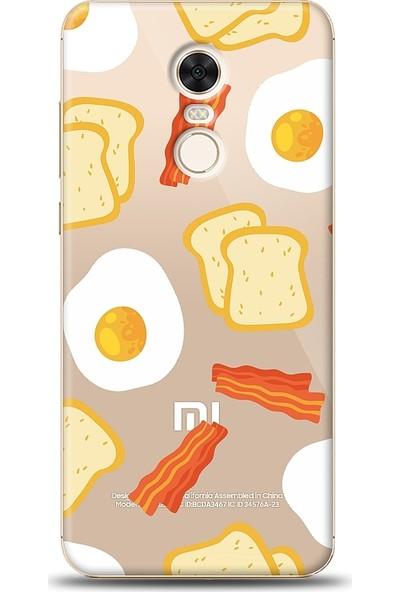 Eiroo Xiaomi Redmi 5 Plus Breakfast Baskılı Tasarım Kılıf