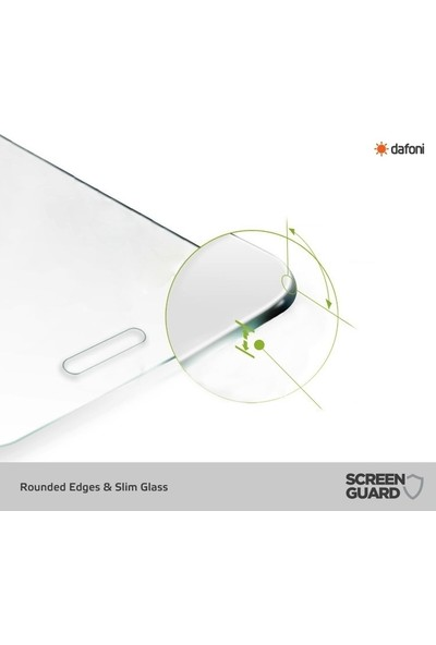Dafoni Samsung Galaxy J8 Tempered Glass Premium Cam Ekran Koruyucu