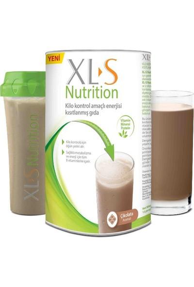 XL-S Nutrition Çikolata Kilo Kontrol Amaçlı Enerjisi Kısıtlanmış Gıda 520 gr + Shaker Set