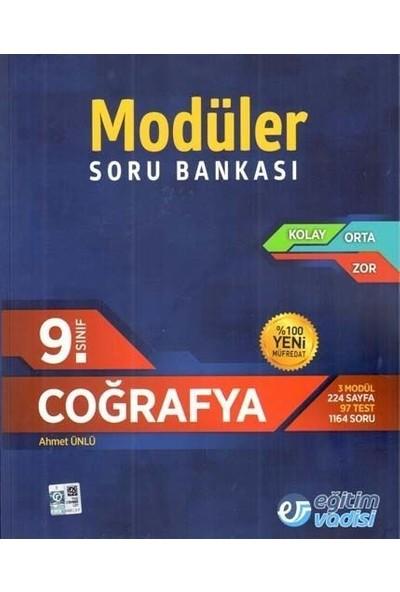 Eğitim Vadisi Yayınları 9. Sınıf Coğrafya Modüler Soru Bankası
