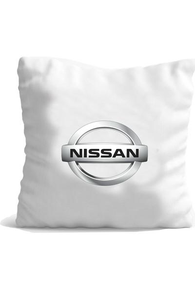 Hediye Mania Nissan Aracınıza Büyük Boy Yastık