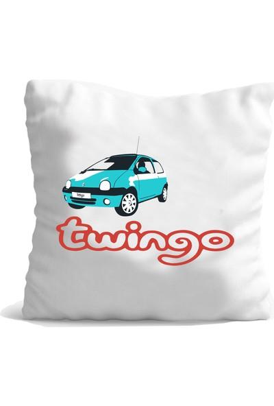Hediye Mania Renault Twingo Aracınıza Büyük Boy Yastık