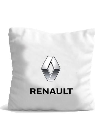 Hediye Mania Renault Arabanıza Büyük Boy Yastık