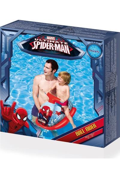 BestWay Spiderman Lisanslı Şişme Jet Ski / 89cm X 46cm
