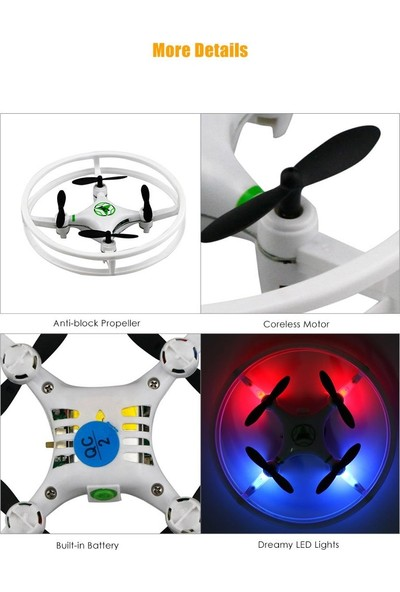 Phantom HC615 Kumandalı Drone Quadcopter 4CH 6Axis Gyro