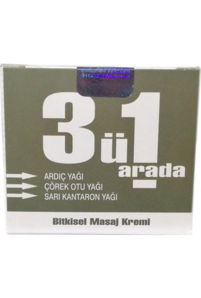 Doğa Derman 3'ü 1 Arada Masaj Kremi 100 ml 3 Adet
