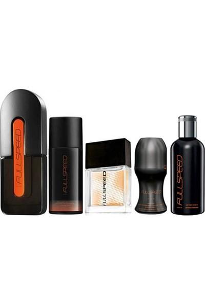 Avon Full Speed Erkek Parfüm EDT 75 ml 5'li Set