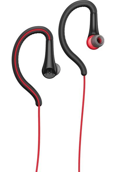 Motorola Earbuds Sport Kablolu Kulaklık - Kırmızı