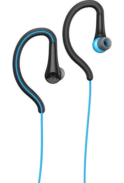 Motorola Earbuds Sport Kablolu Kulaklık - Mavi