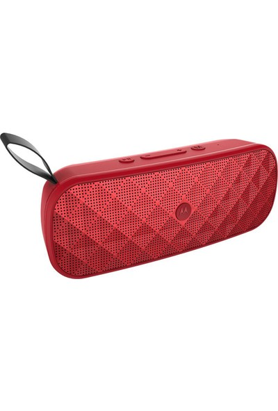 Motorola Sonic Play + 275 Fm Bluetooth Hoparlör - Kırmızı