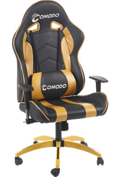 XFly Comodo Oyuncu Koltuğu Sarı Deri 1505B0492