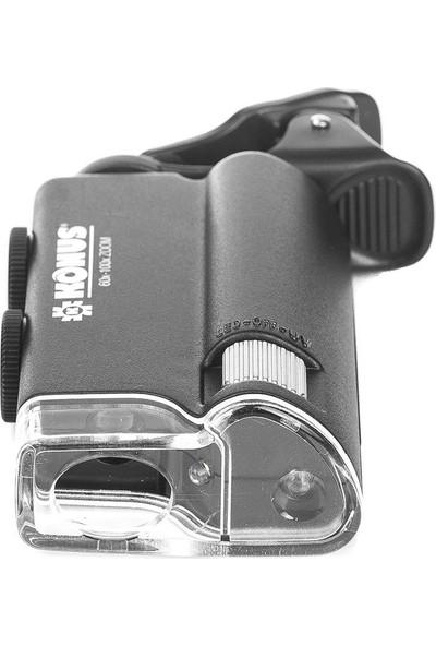 Konus Clip 60x-100x Cep Mikroskobu