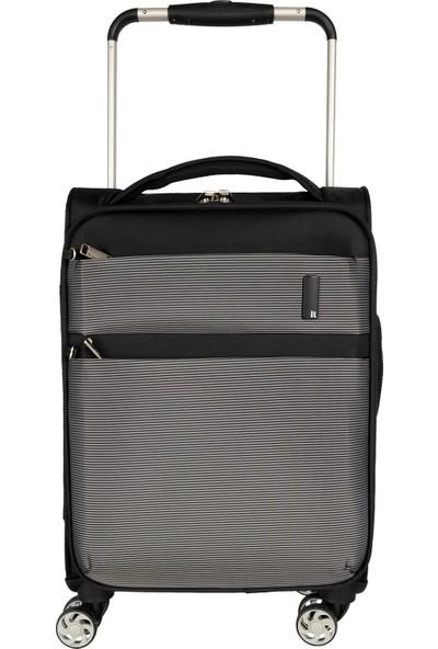 It Luggage Valiz Kabin Boy It2058-S Black/White