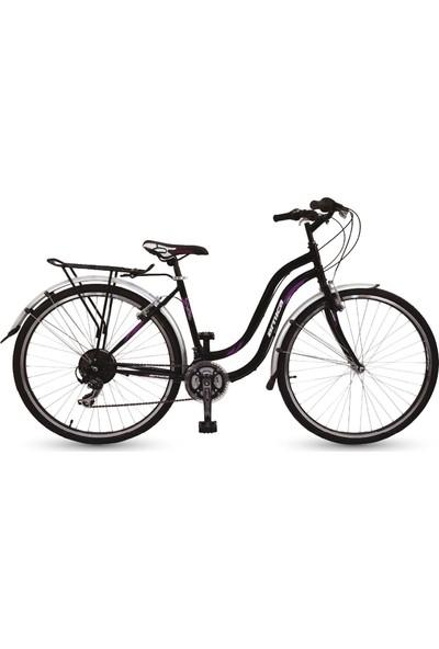 Arnica PVC Çamurluklu Bagajlı Double Jant Shimano Bisiklet