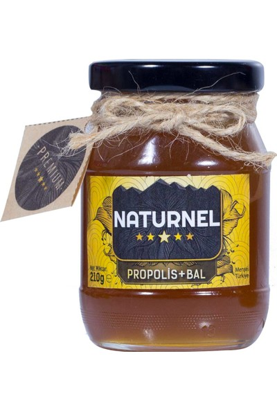 Naturnel Propolis & Bal Karışımı 210 gr