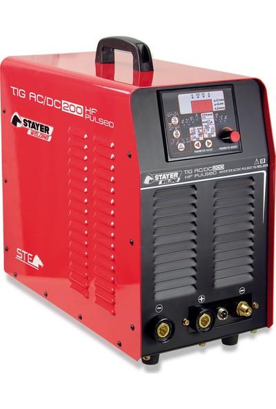 Stayer Tıg Ac/Dc 200 Hf Serisi İnverter Kaynak Makinesi