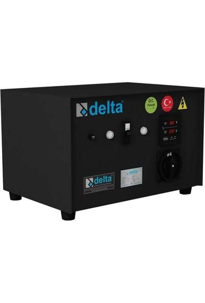 Delta 10 Kva Servo Monofaze Voltaj Regülatörü Korumalı 160V/260V