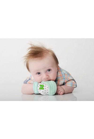Mouthie Mitten Eldiven Diş Kaşıyıcı Nane Yeşili