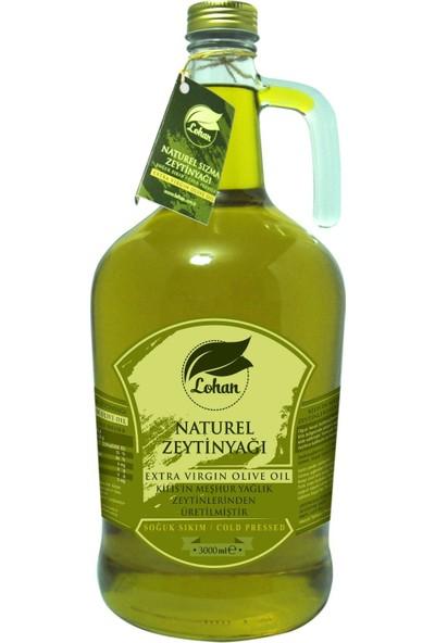 Lohan Naturel Sızma Zeytinyağı 3 lt