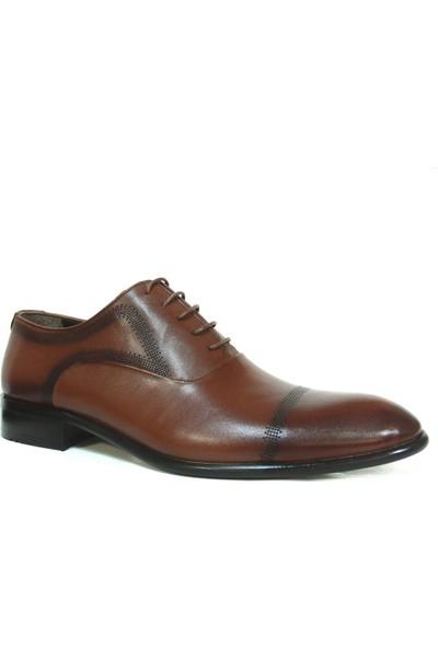 Aksin 180 Kahverengi Bağcıklı Erkek Ayakkabı