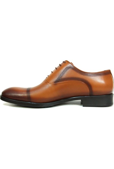 Aksin 180 Taba Bağcıklı Erkek Ayakkabı