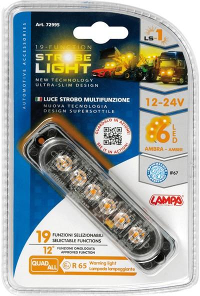 Lampa 19 Fonksiyon 6 Sinyal Turuncu Amber Led Çakar Lamba 72995