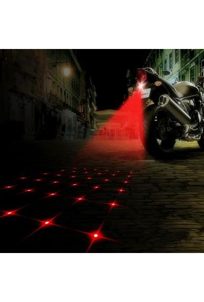 Dreambike Lazer Stop Güvenlik Işığı Yıldız Görselli 6664002