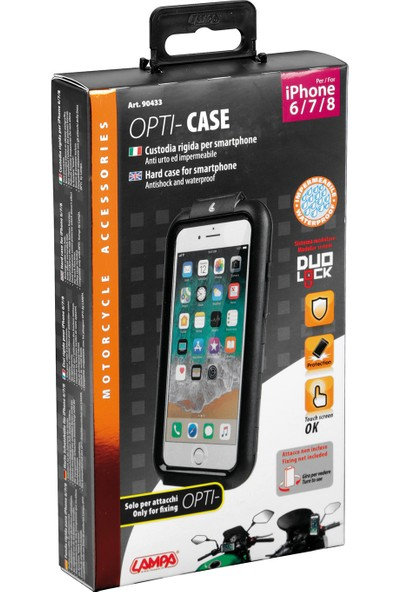 Lampa Opti-Case iPhone 6/7/8 İçin Hard Case Holder 90433