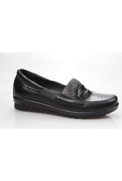 Mammamia D18Ya-745-B Kadın Deri Ortopedik Günlük Ayakkabı