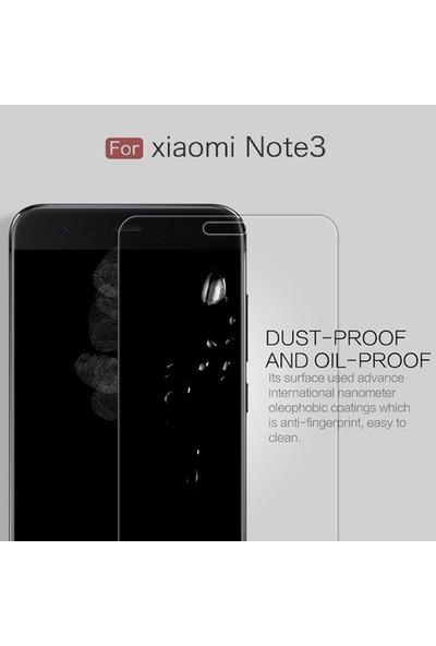 Case 4U Xiaomi Mi Note 3 Temperli Cam Ekran Koruyucu - Şeffaf