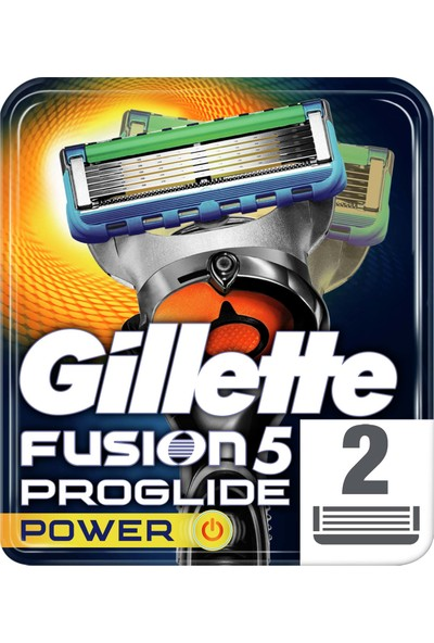 Gillette Fusion ProGlide Power 2'li Yedek Tıraş Bıçağı