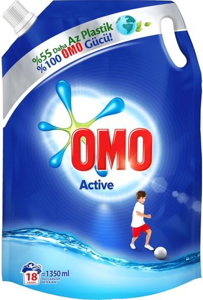 Omo Sıvı Deterjan Pouch Active 1350 ml