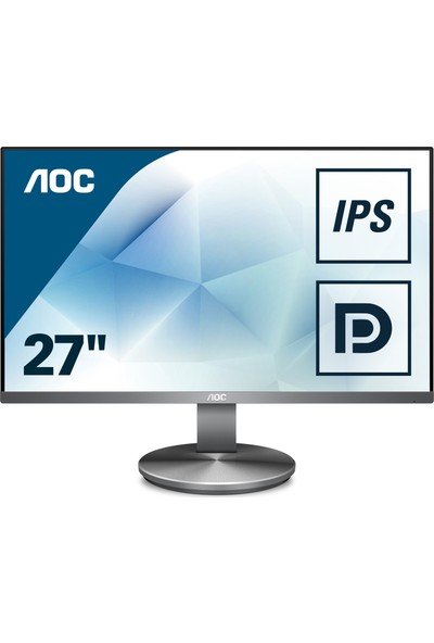 "AOC I2790VQ/BT 27"" 4ms (Analog+HDMI+Display) Full HD IPS Monitör"