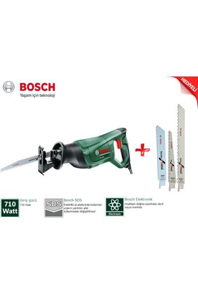 Bosch PSA 700 E Tilki Kuyruğu 710 Watt + 3 Bıçak
