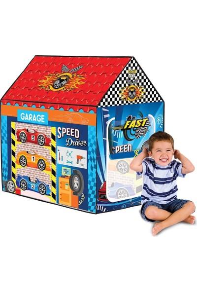 Furkan Toys Garaj Oyun Evi Erkek Çocuk Oyun Çadırı
