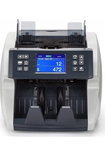 HunterTec CDM 2400 13 Ülkeli Karışık Sayım Para Sayma Makinası Sahte Para Kontrol Cihazı