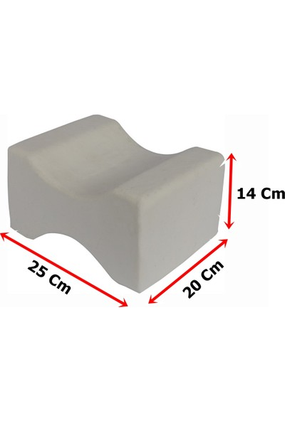 Soft Visco Elastik Bacak Arası Pozisyon Yastığı Minderi