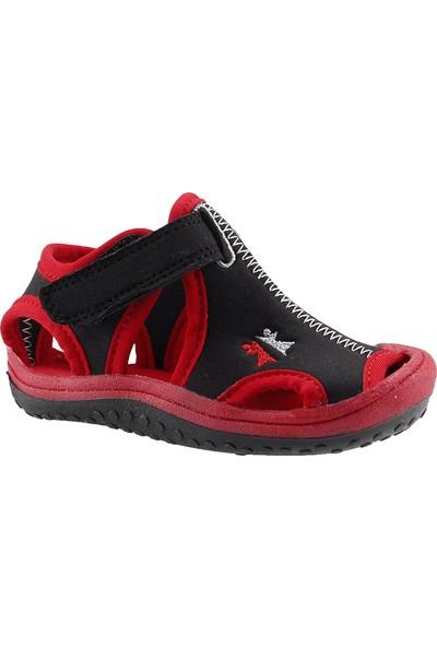 Ayakland Cute Kids Siyah Aqua Erkek Çocuk Sandalet Deniz Ayakkabısı
