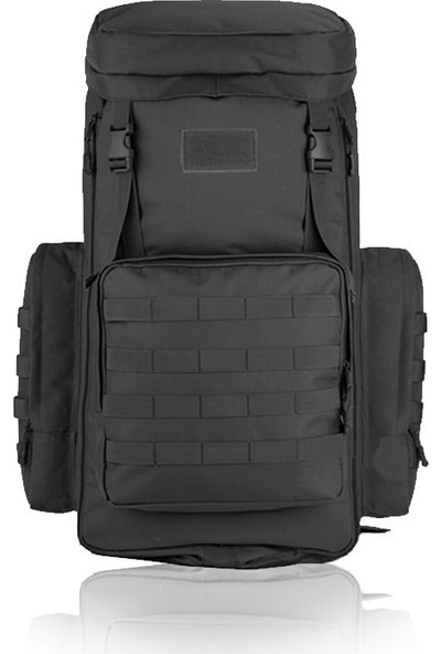 Protector Plus 408 Kamp Dağ Sırt Çantası 75+10L Siyah