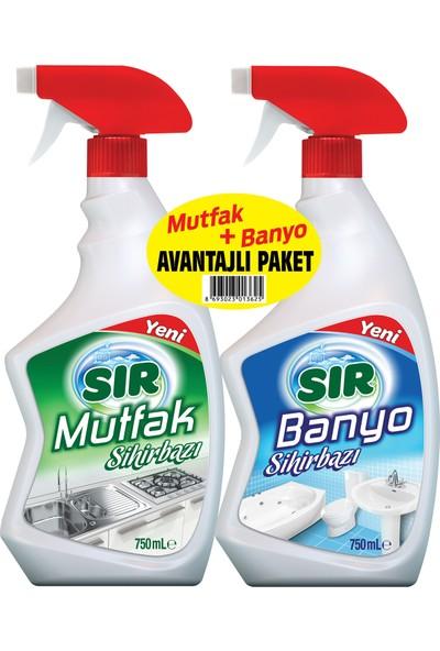 Sır Mutfak + Banyo 750 + 750 ml