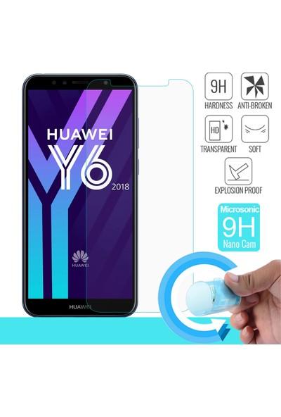 Microsonic Huawei Y6 2018 Nano Cam Ekran Koruyucu Film